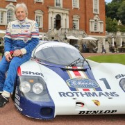 Photo of motor legend Derek Bell