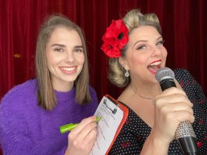Dawn and Amy Gracie's Vintage Quiz - 3.15pm