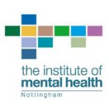 Institute of Mental Health, Nottingham logo