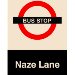 Bus Stop Sign for Care & Dementia Homes