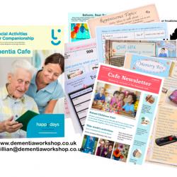 Dementia Cafe Social Activity Manual at www.dementiaworkshop.co.uk