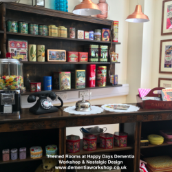 Happy Days Community Sweet Shop info@dementiaworkshop.co.uk