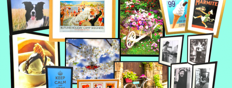 Nostalgic Wall Art for Care Homes, Hospitals, Hotels and Cafes at www.dementiaworkshop.co.uk