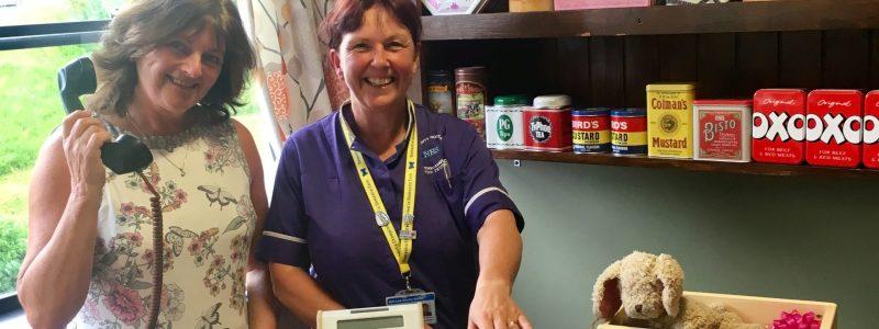 NHS Royal Lancaster Infirmary UHMFT with Dianne Smith Matron Dementia Vintage Shop at www.dementiaworkshop.co.uk.jpg