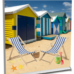 Pop-up-Places Beach Huts