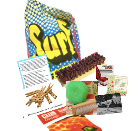 Surf Laundry Bag & Reminiscence Materials