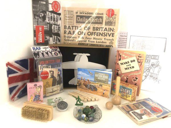 World War II Reminiscence Box