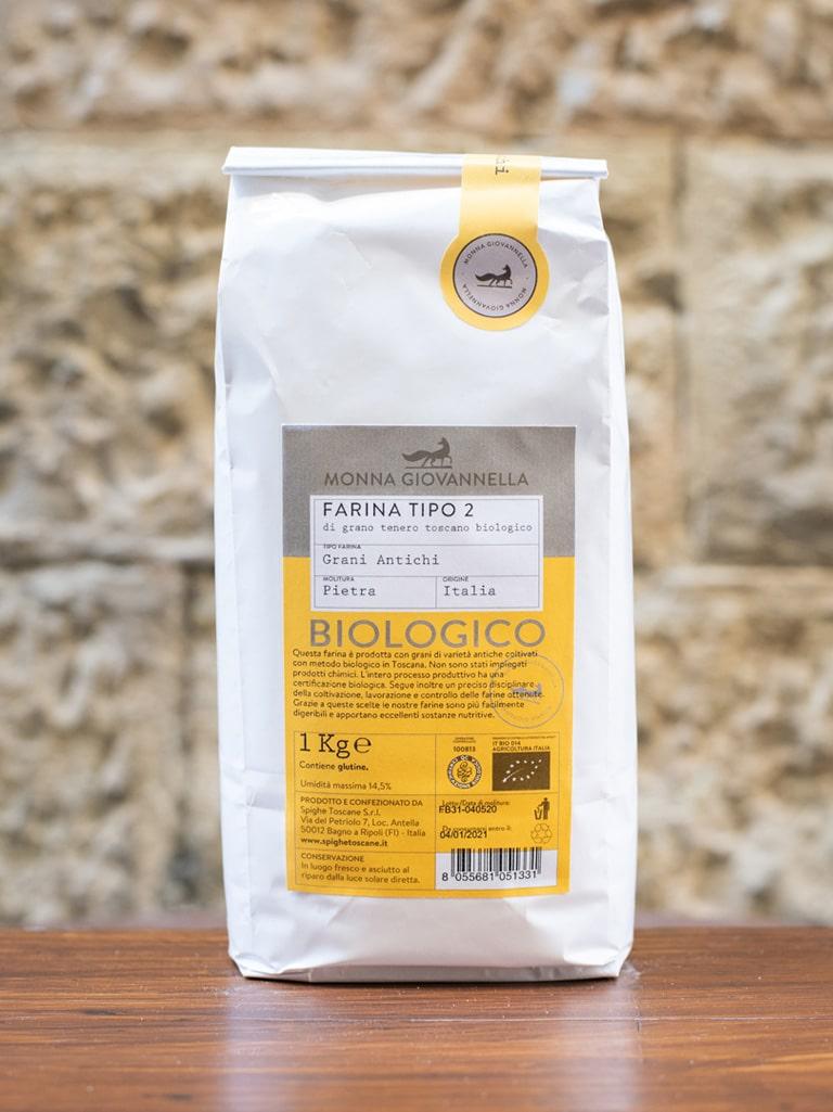 Demetra Bottega Semi Wholewheat Flour Ancient Grains