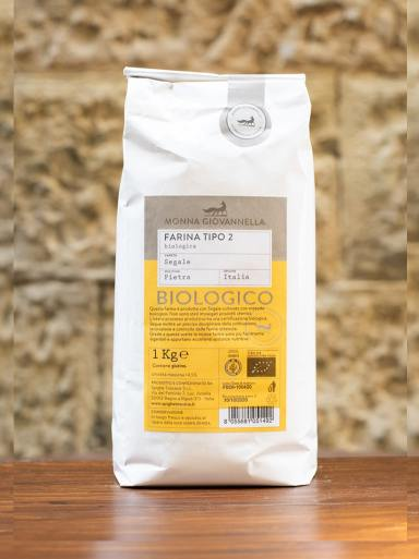 Demetra Bottega Semi Wholewheat Rye Flour