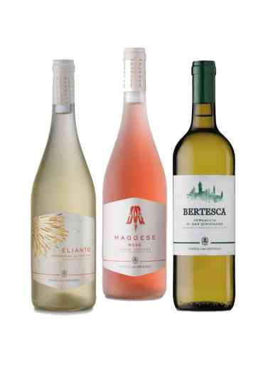 Demetra Bottega Three Wine Summer Selection Castelgreve