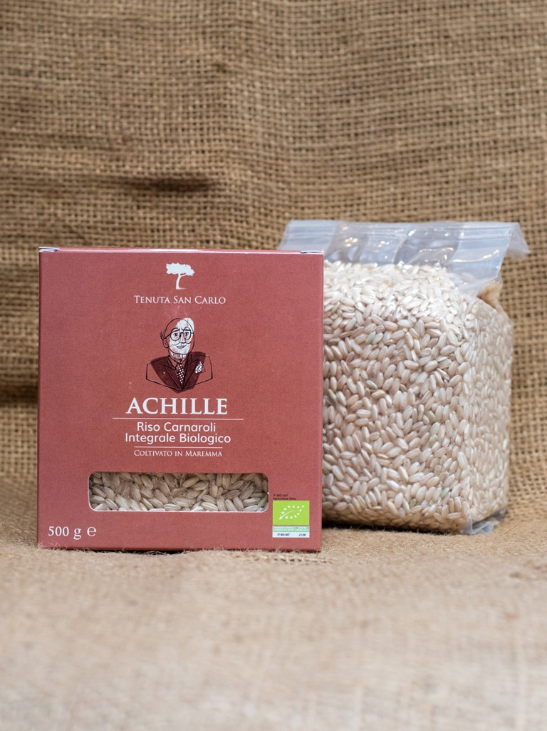 Demetra Bottega Organic Wholegrain Brown Carnaroli Rice