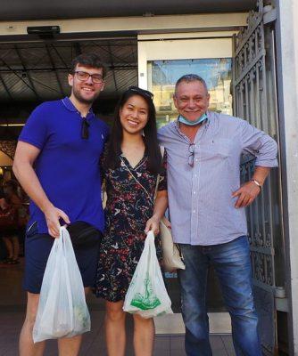 Demetra Hostaria Visit the fresh food market