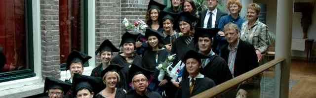 Groepsfoto's van diploma-uitreiking MMI gevraagd!
