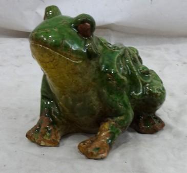 Petite Grenouille En Cramique Demeure Et Jardin