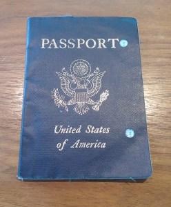 my old beat up passport :)