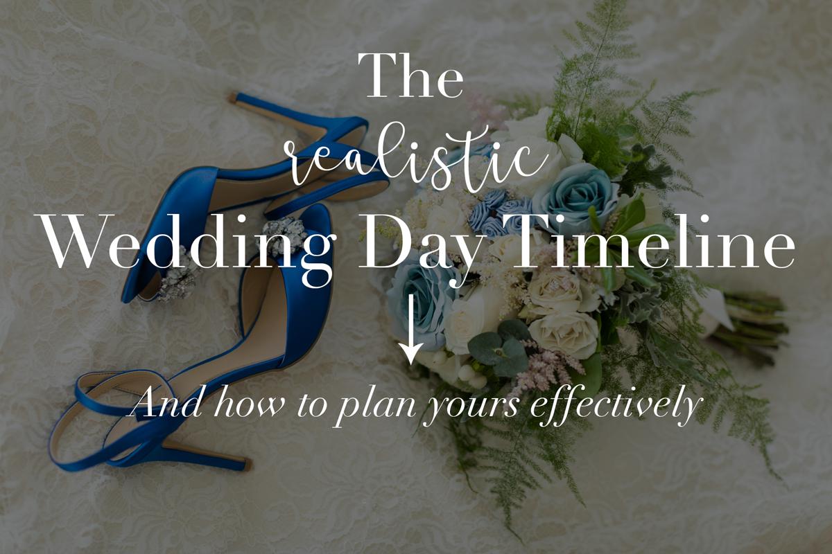 wedding day timeline in Aruba