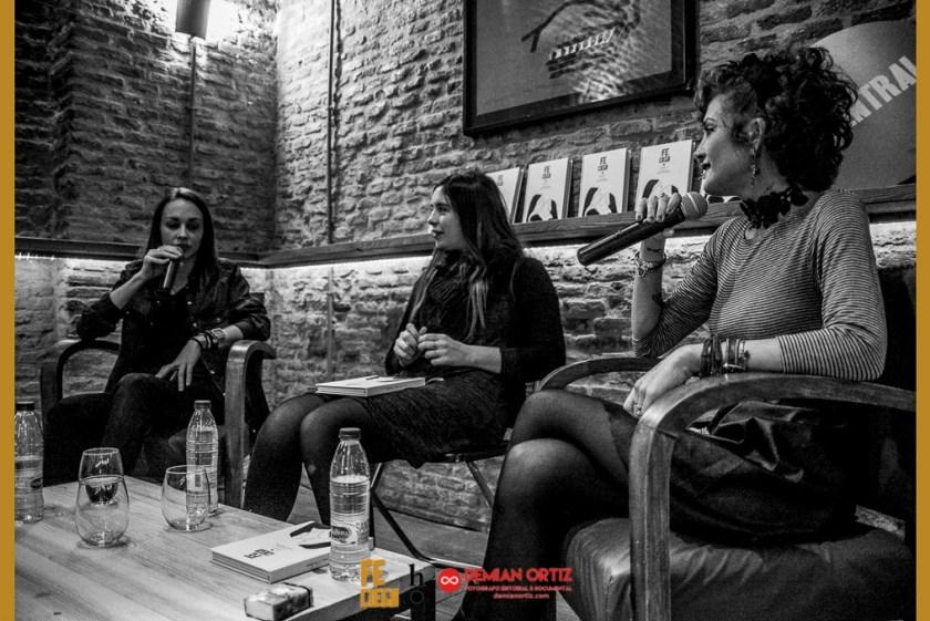 Harpo Libros | Presentación del poemario de Irene X y Aixa Bonilla en La Central de Callao.