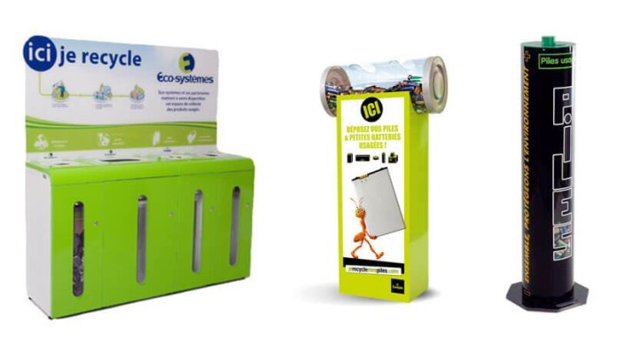 recycle pile batterie