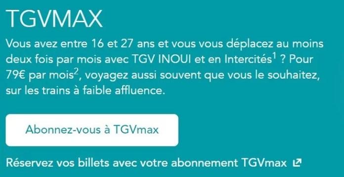 tgvmax conditions