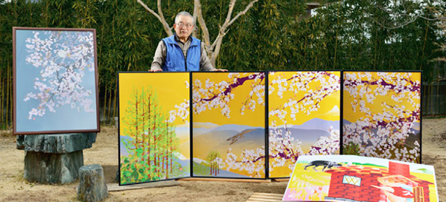 73-Year-Old Japanese Man Creates Impressive Paintings Using Only Excel