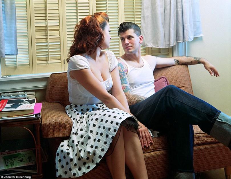 rockabilly community 50s america jennifer greenburg 3 - 12 Fotos dos anos 50 bem coloridas