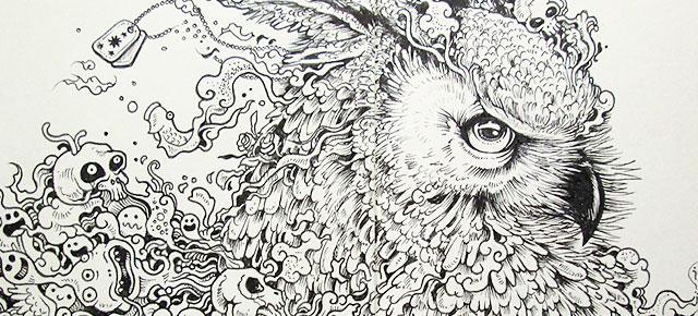 Animal Drawings DeMilked