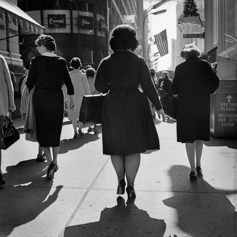 new york chicago street photography vivian maier 19 - Fotos perdidas de Vivian Maier do dia a dia americano nas décadas de 50 e 60