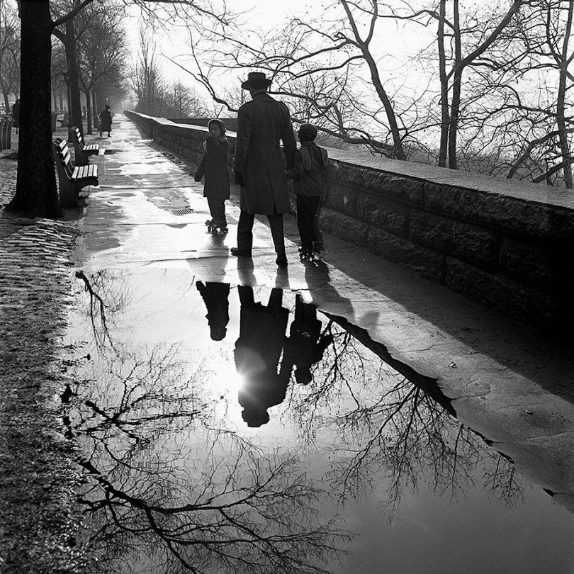new york chicago street photography vivian maier 36 - Fotos perdidas de Vivian Maier do dia a dia americano nas décadas de 50 e 60