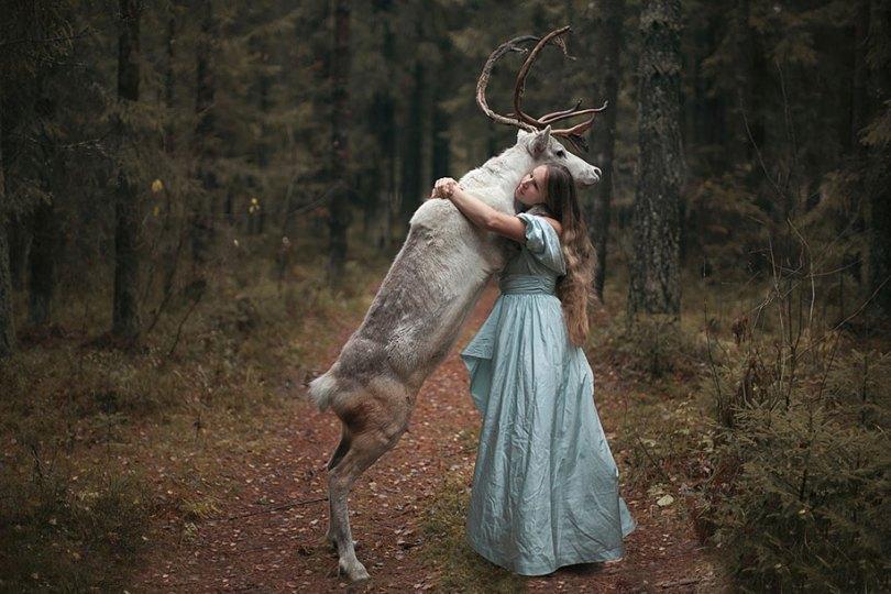 Retratos animais surreal-humano-katerina-plotnikova-1