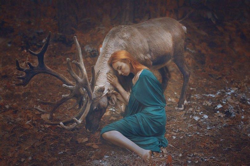 Retratos animais surreal-humano-katerina-plotnikova-17