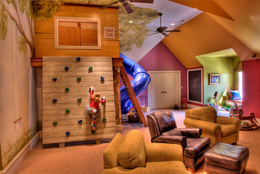 22 Of The Most Magical Bedroom Interiors For Kids 12  Adventure Treehouse Room