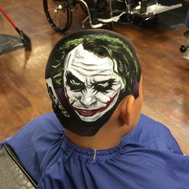 Artist Cuts Hair Into Photo Realistic Portraits