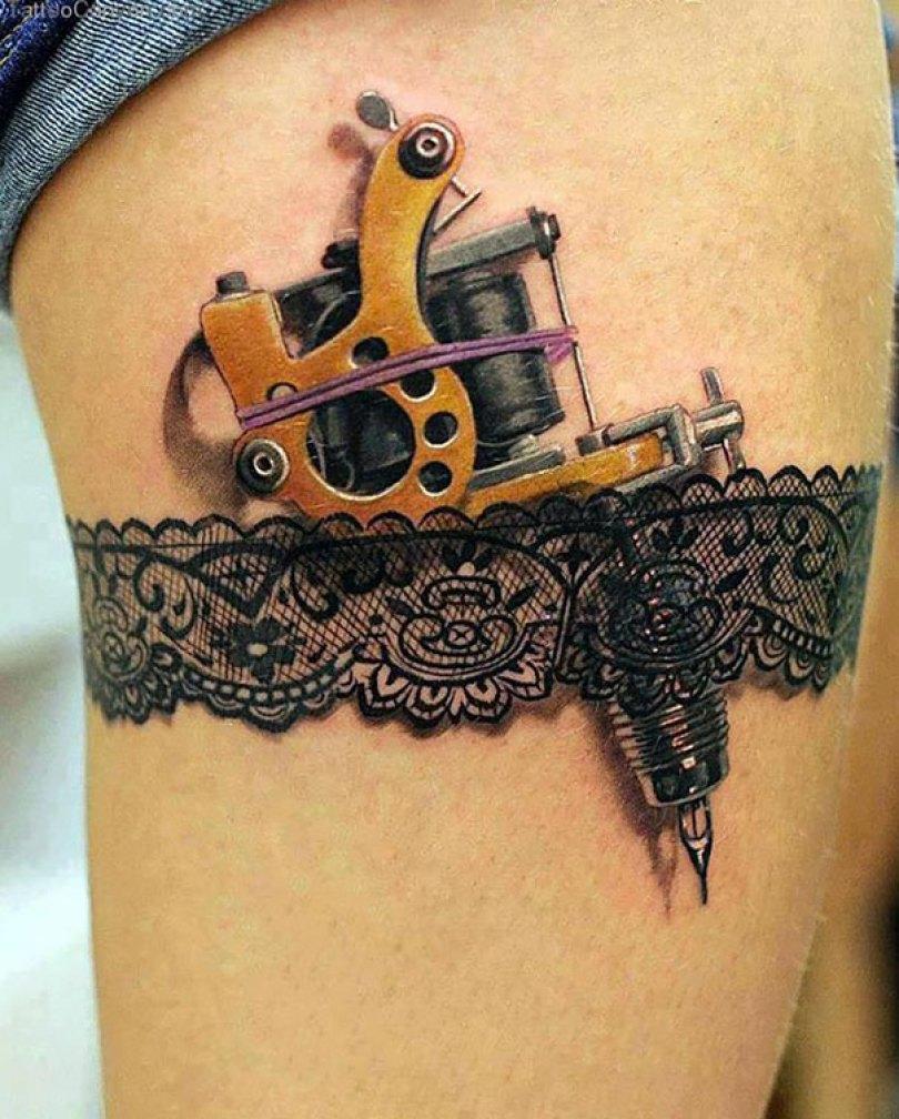 amazing 3d tattoo art 18 - 56  Tatuagens em 3D que irão bagunçar sua mente