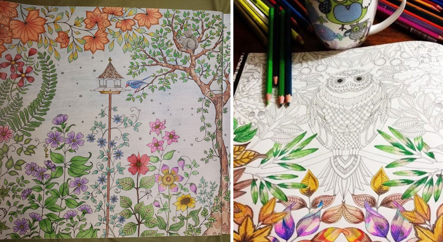British Artist Draws Coloring Books For Adults And Sells
