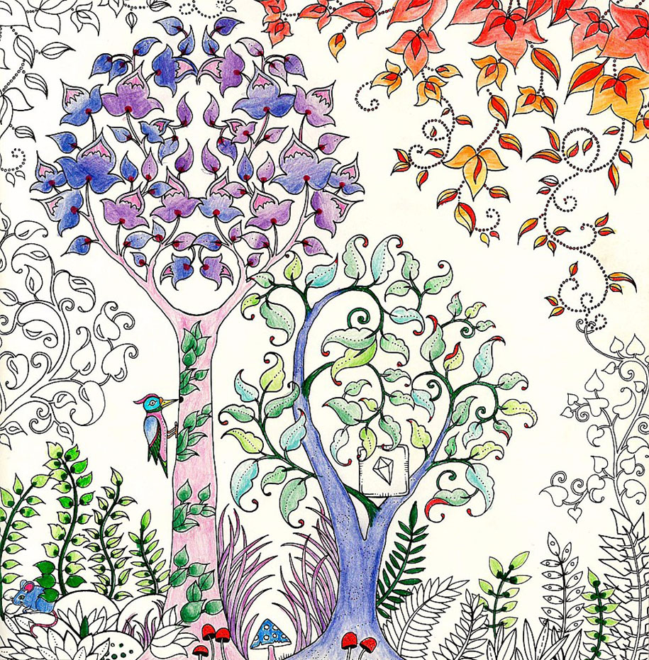 british artist draws coloring books for adults and sells million