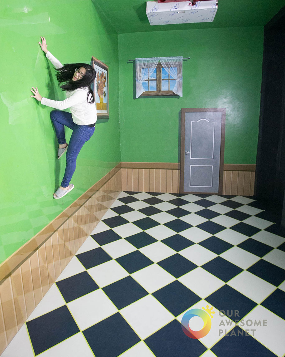 Painting Upside Down
