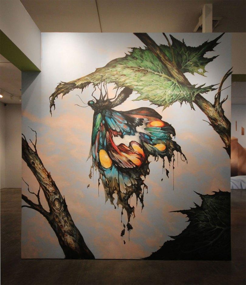 art exhibition vitality and verve transforming the urban landscape long beach california 12 - Museu de arte permitiu que artistas desenhassem em suas paredes