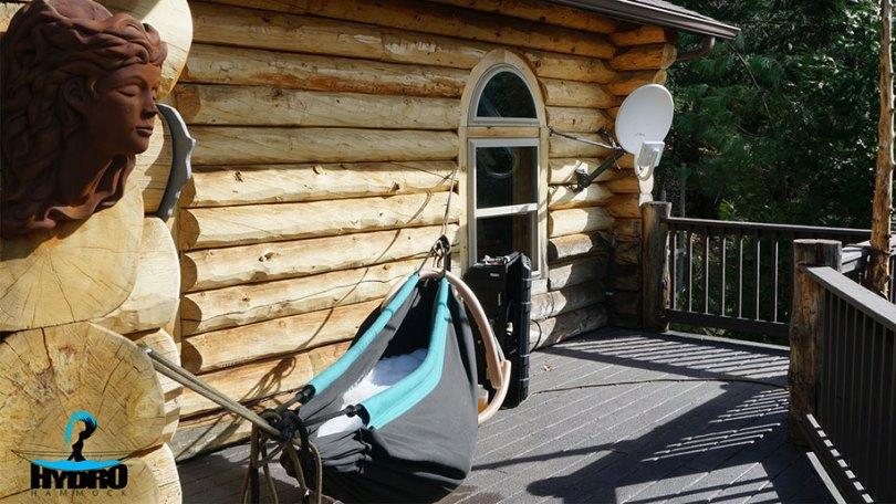 nature outdoor hot tub hydro hammock benjamin frederick 4 - Banheira estilo rede
