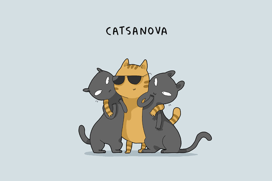 animal-illustrations-12-types-cats-lingvistov-7