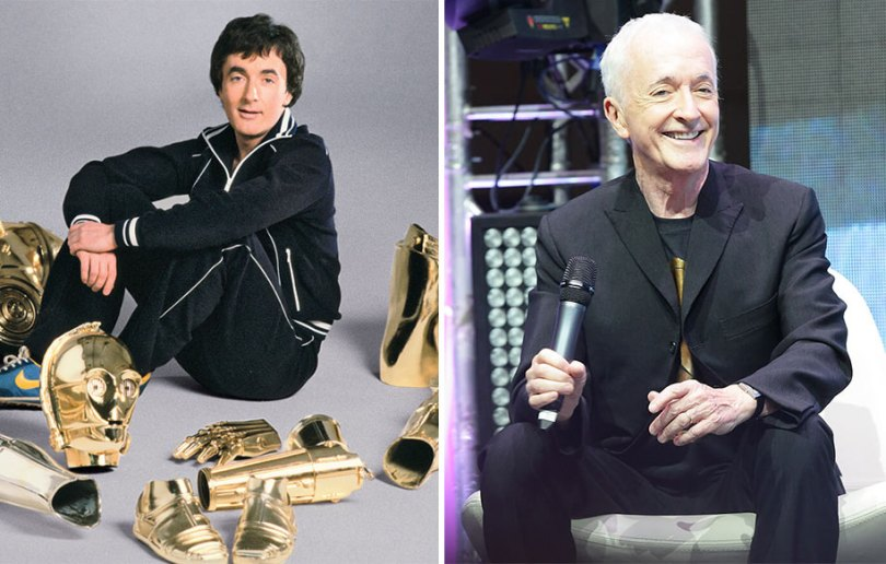 now then star wars cast actors 5 - Star Wars de 1977 O antes e depois dos artistas