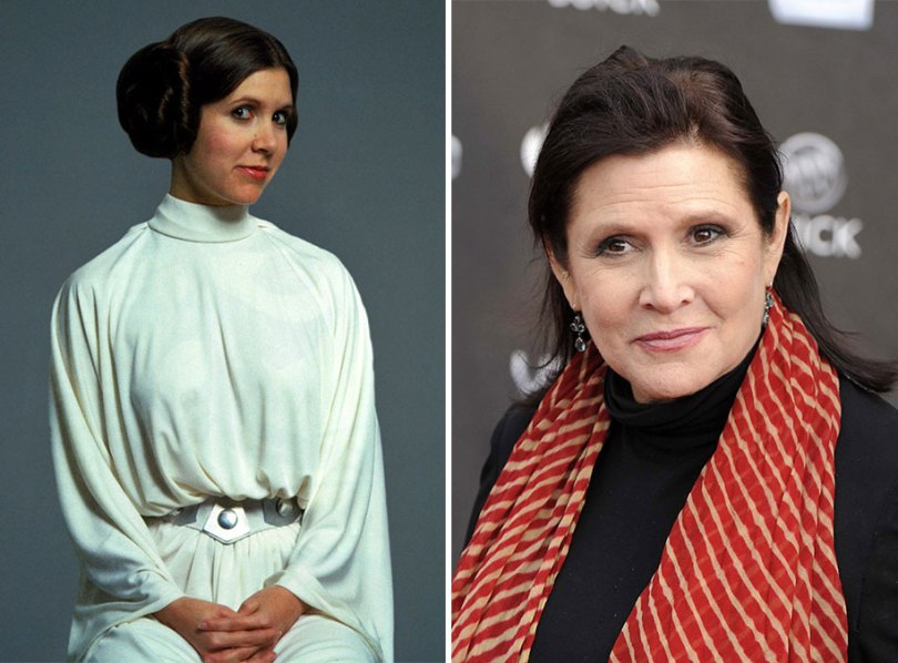 now then star wars cast actors 6 - Star Wars de 1977 O antes e depois dos artistas
