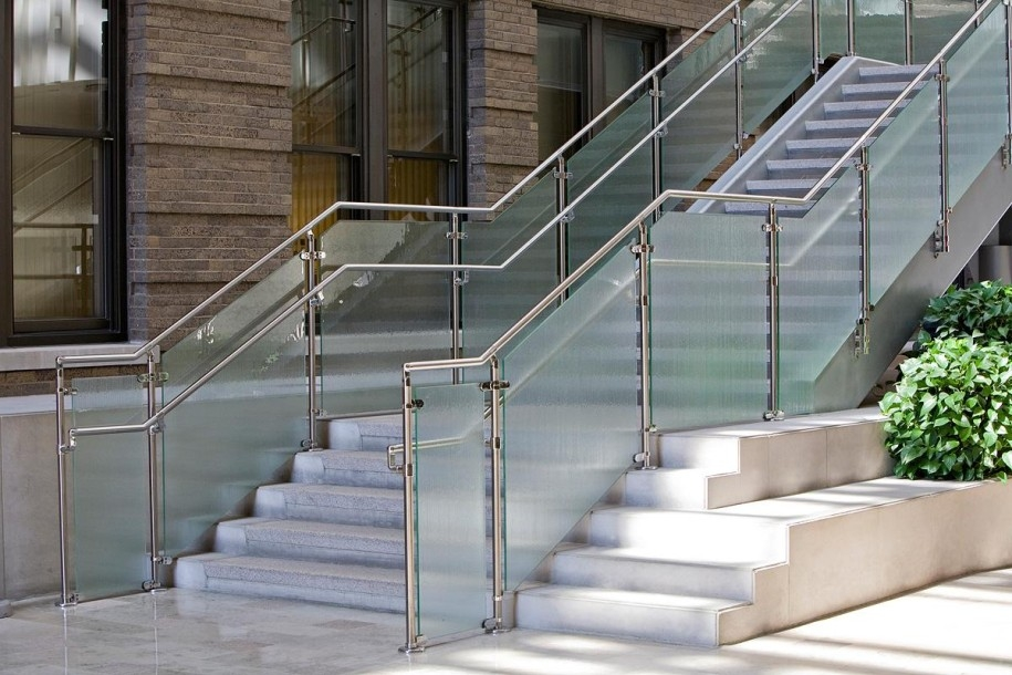 Stainless Steel Railings Vs Wooden Railings Demilked | Wooden Railing Designs For Stairs | Wrought Iron | Unique | Minimal Railing | Brown | Balcony