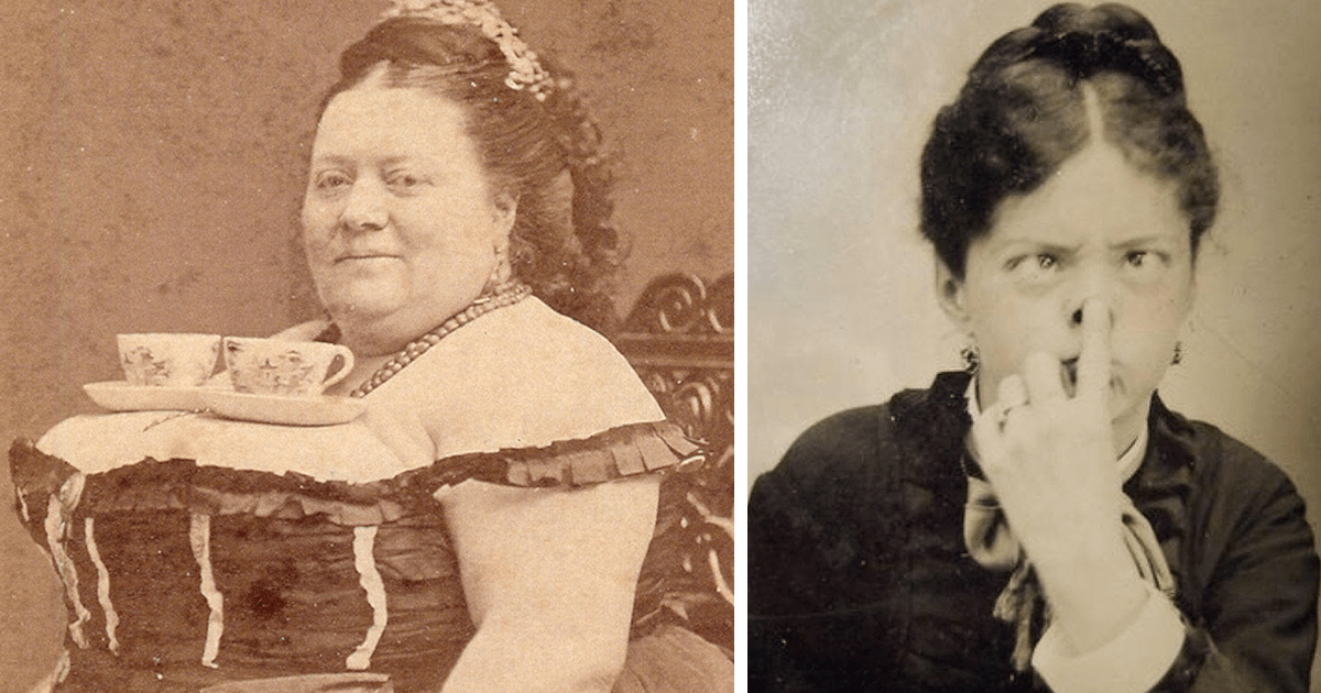 Rare Photos Showing That Victorians Werent That Serious
