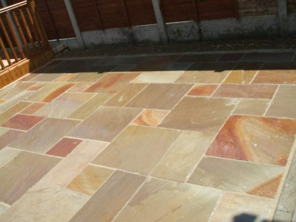 How To Clean Indian Sandstone Paving Slabs