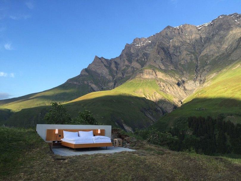 montanha-cama-suite-suíço-Alpes-nulo-stern-hotel-1