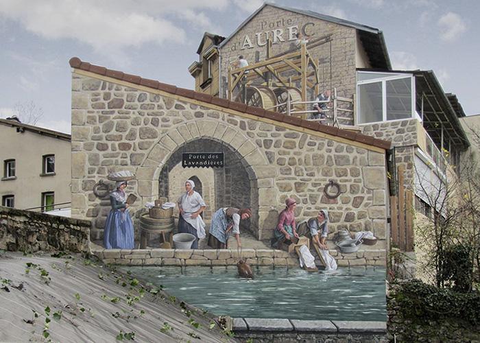 street art hyper realistic fake facades patrick commecy 23 - Artista francês transforma fachadas de prédios em desenhos cheios de vida