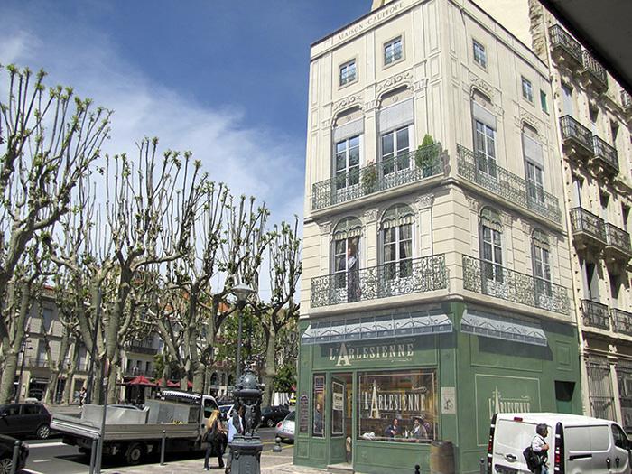 street art hyper realistic fake facades patrick commecy 32 - Artista francês transforma fachadas de prédios em desenhos cheios de vida