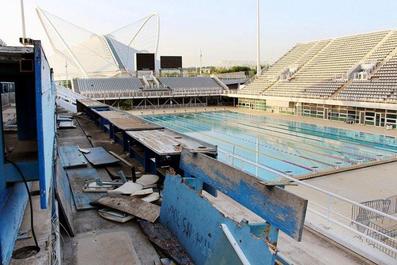 Abandonados - locais olímpicos - urbanos - decadência - 17