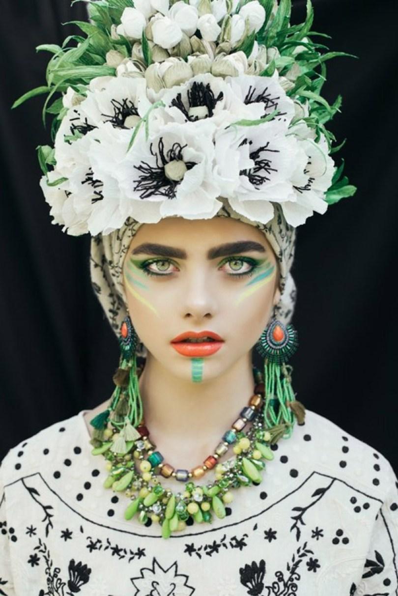polish slavic wreaths folklore ula koska beata bojda 6 - Mulheres e as coroas florais tradicionais de seu país