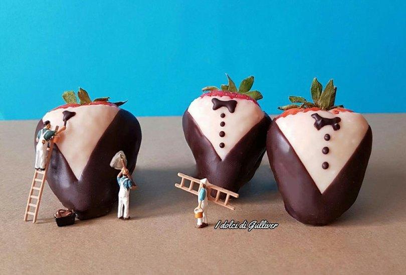 dessert miniatures pastry chef matteo stucchi 31 - Chef italiano transforma sobremesas em mundos em miniatura